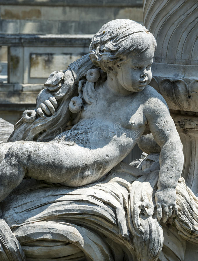Download Nimes, park stock image. Image of statue, urban, fountain - 37004867