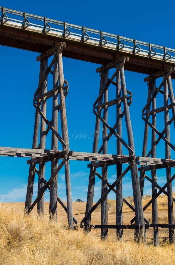 Nimmons Brücke nahe Ballarat, Australien lizenzfreie stockbilder