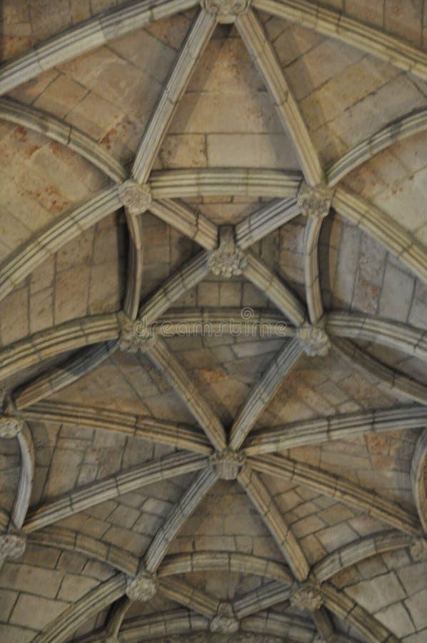 Nimos monasterio, Belem, Portugal, invierno 2014 del ³ de Jerà foto de archivo