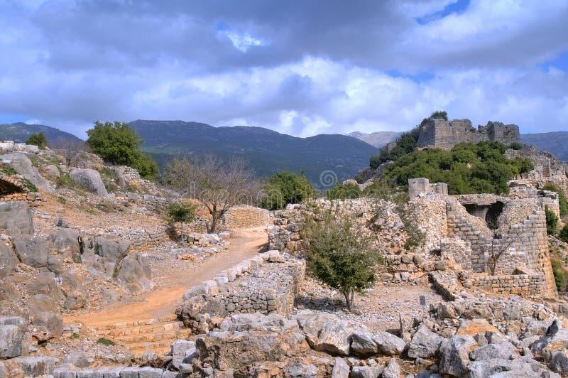 Nimrod φρούριο στοκ φωτογραφίες με δικαίωμα ελεύθερης χρήσης