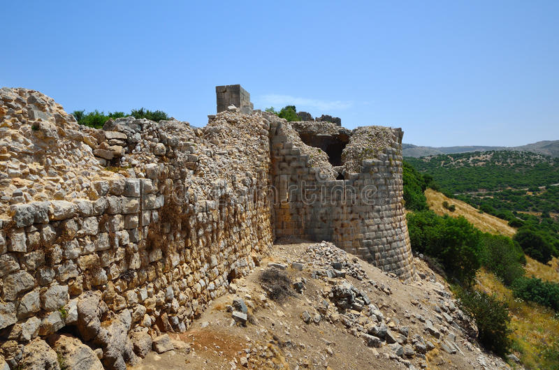 The Nimrod Fortress stock images