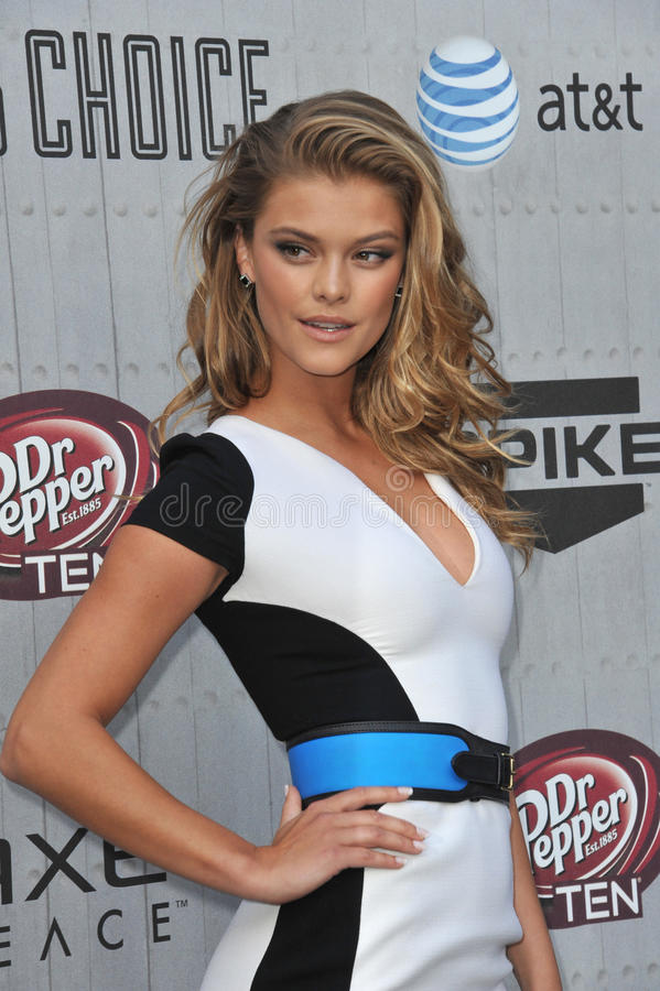 Nina Agdal royalty free stock images