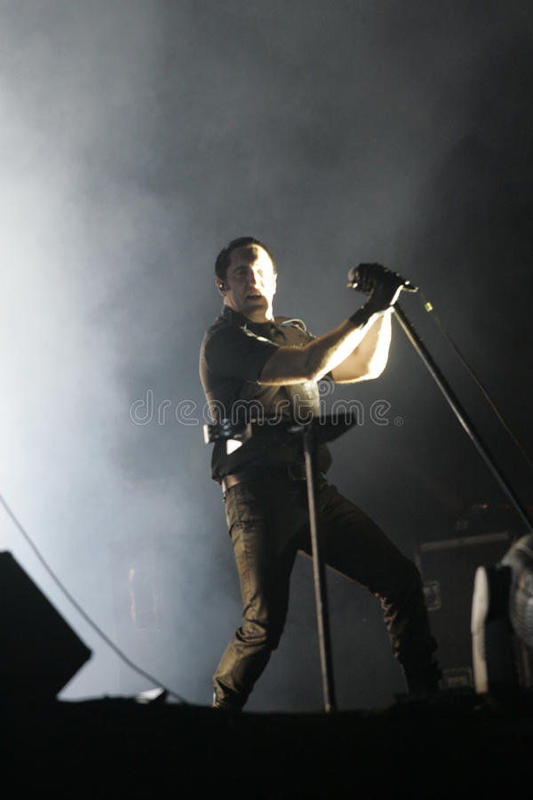 NINE INCH NAILS lizenzfreie stockbilder