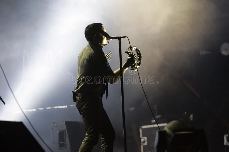 NINE INCH NAILS stockfotografie