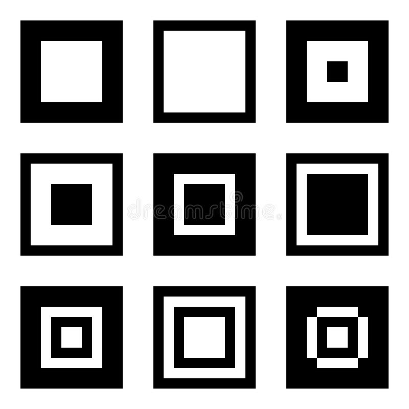 Free Nine Squares Royalty Free Stock Images - 6192159