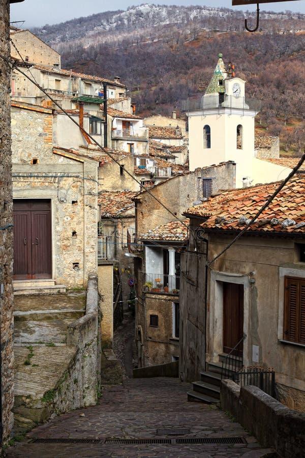 ninea SAN Di Donato streetview στοκ εικόνες