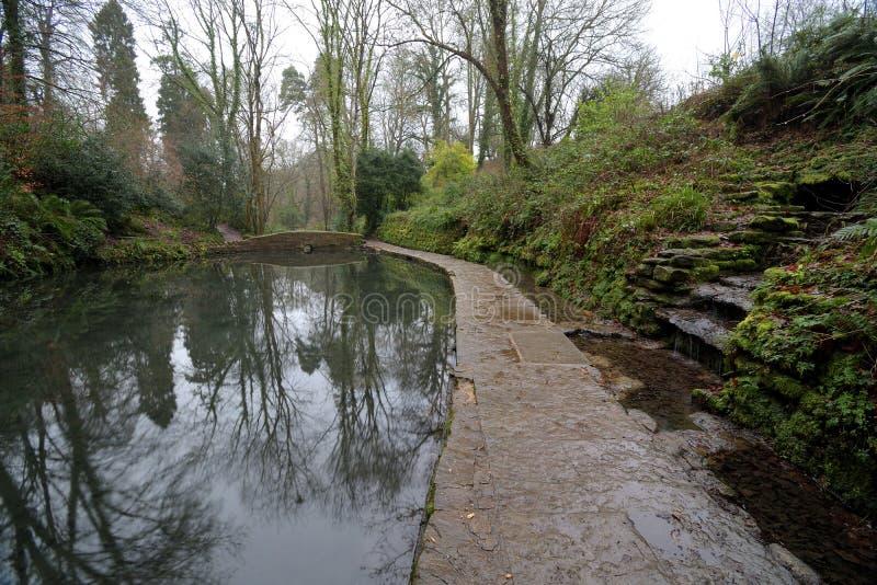 Ninespringspark in Yeovil royalty-vrije stock afbeelding