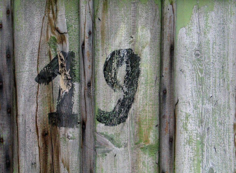 Download Nineteen stock image. Image of numerate, wood, number, nine - 23885