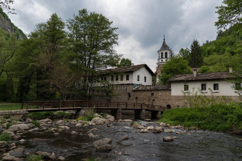 Nineteenth century Dryanovo.Monastery St. Archangel Michael, Gabrovo region, stock image