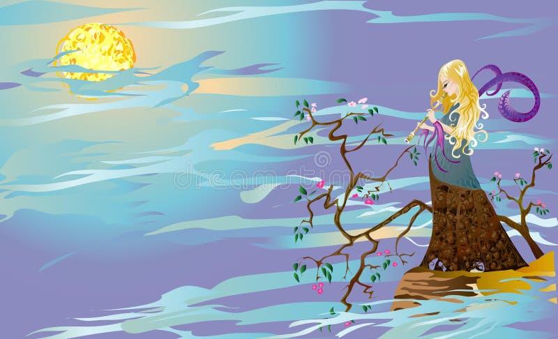 Ninfa de sueños libre illustration