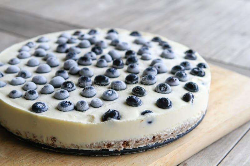 Ningún cueza el pastel de queso foto de archivo libre de regalías