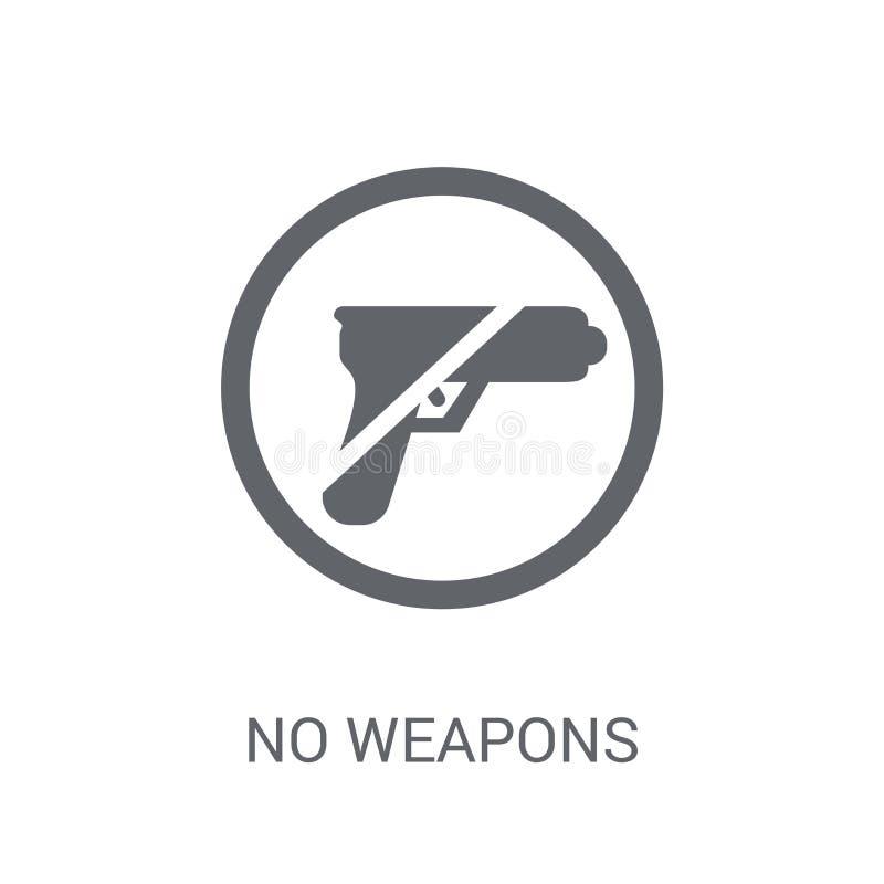 Ningún icono de las armas  libre illustration