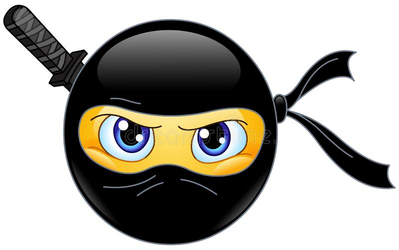 Ninga emoticon ελεύθερη απεικόνιση δικαιώματος