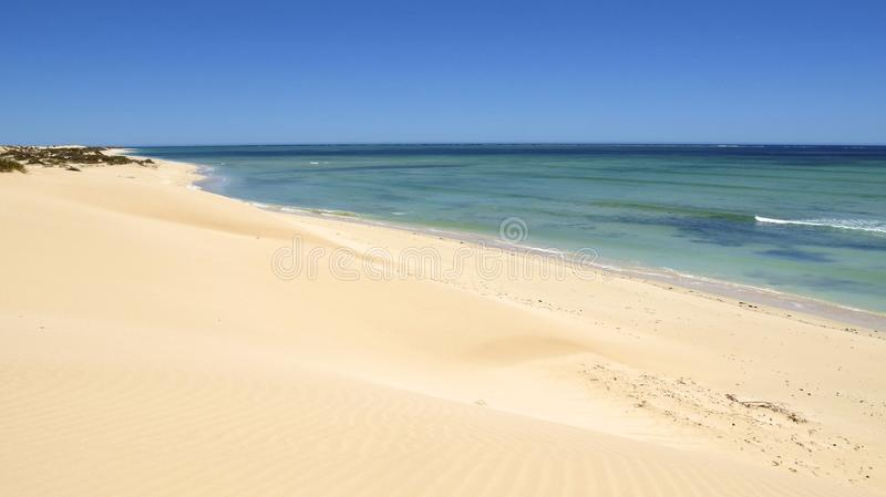 Ningalookust, Westelijk Australië stock foto's