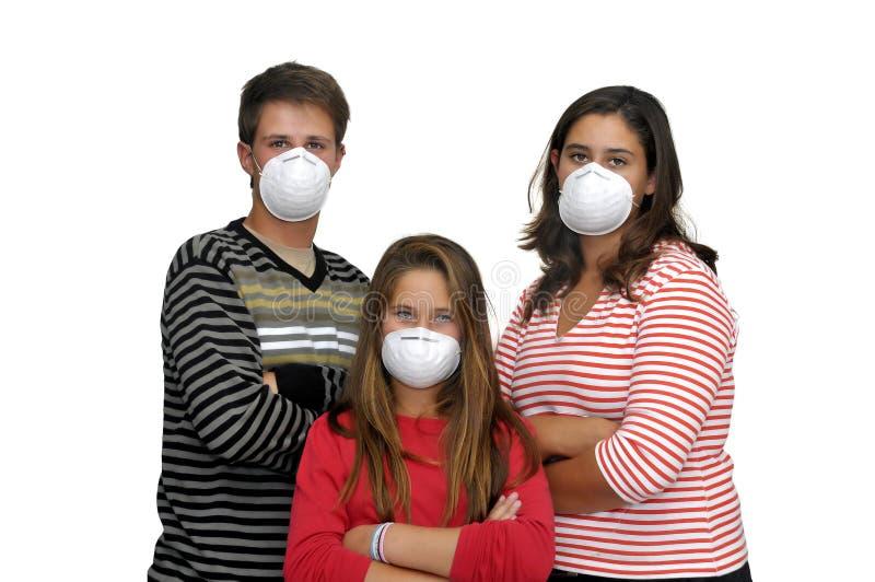 Ninguna gripe foto de archivo