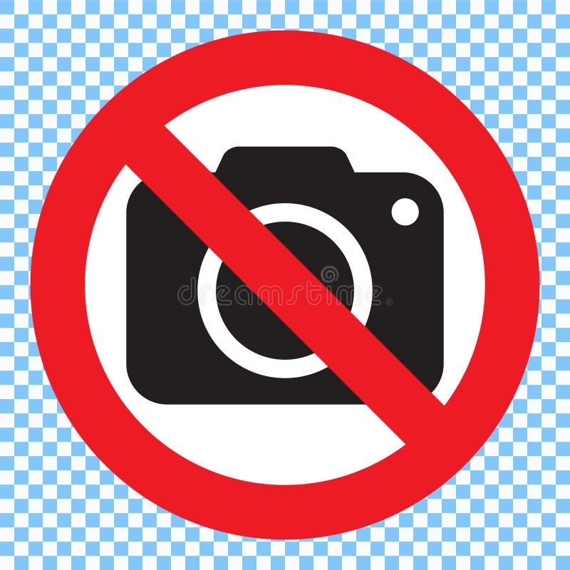 Ninguna muestra de la cámara de la foto Ninguna muestra de la fotografía libre illustration