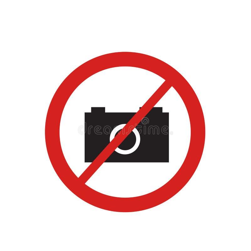 Ninguna muestra y símbolo del vector del icono de la foto aislados en el fondo blanco, ningún concepto del logotipo de la foto ilustración del vector