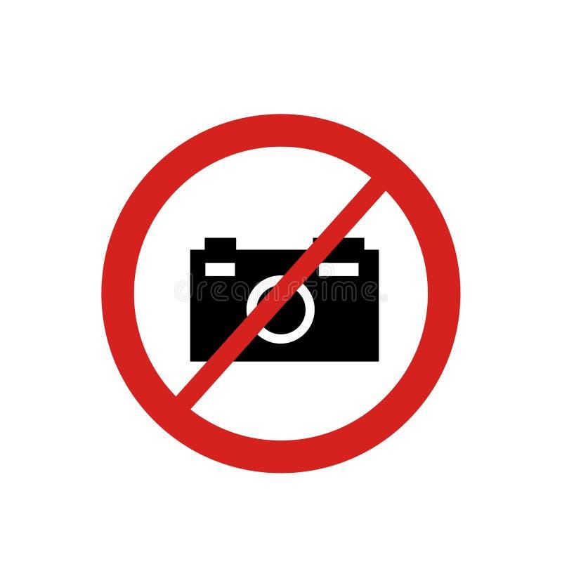 Ninguna muestra y símbolo del vector del icono de la foto aislados en el fondo blanco, ningún concepto del logotipo de la foto stock de ilustración