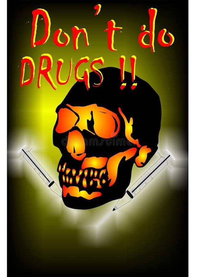 Ningunas drogas libre illustration