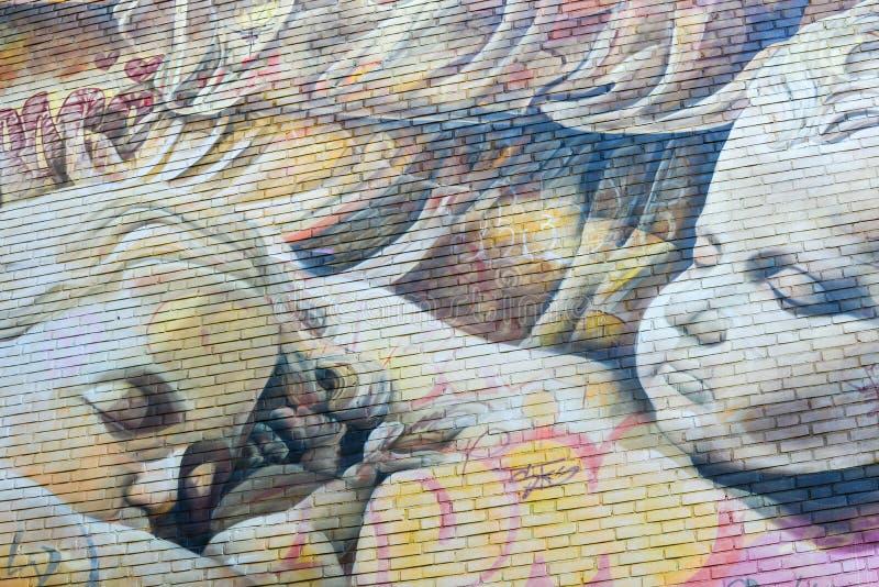Ningunos artes 2017 de la calle del límite imagen de archivo libre de regalías