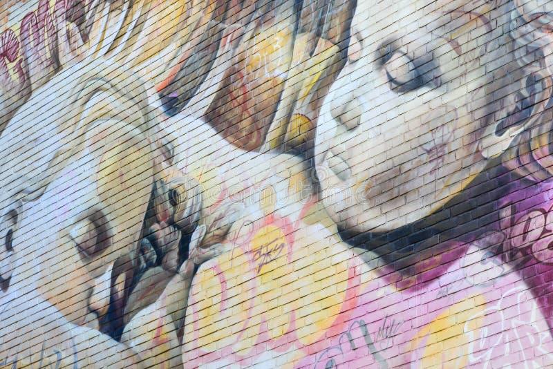 Ningunos artes 2017 de la calle del límite fotografía de archivo