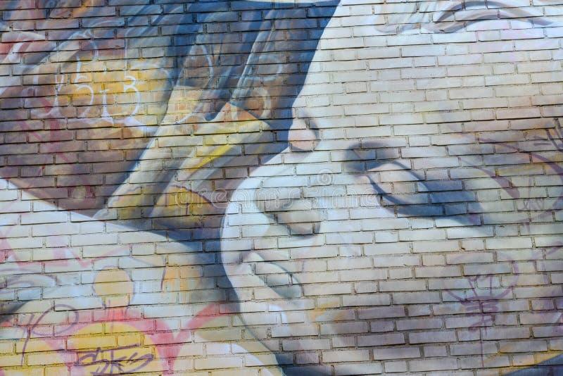Ningunos artes 2017 de la calle del límite foto de archivo