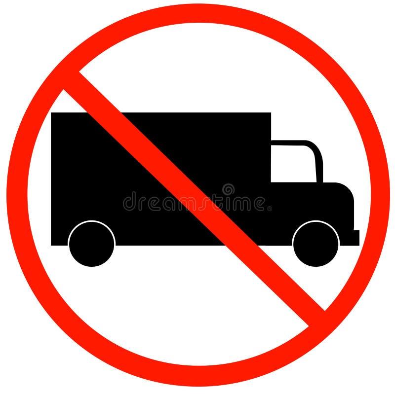 Ningunos carros permitidos libre illustration