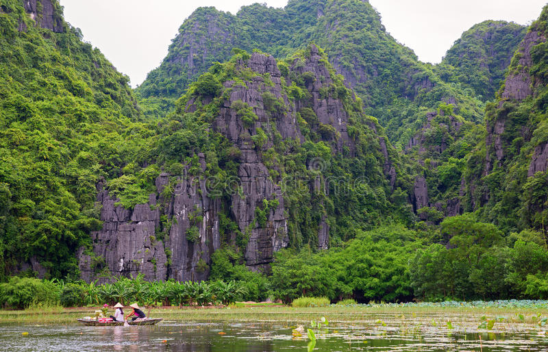 Download Ninh Binh stock image. Image of rowing, halong, outdoors - 26717507