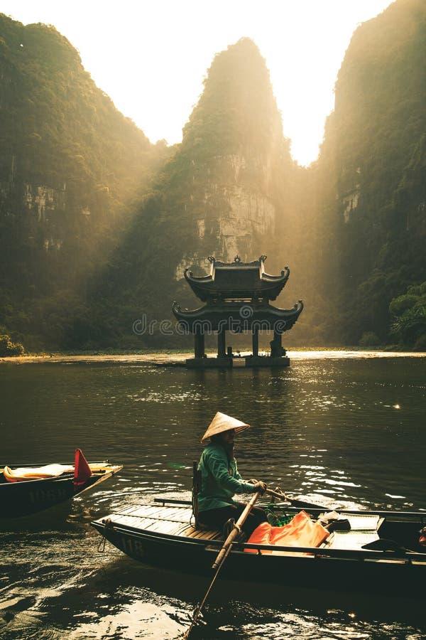Free Ninh Binh, Vietnam Landscape Mountains Stock Photography - 172284822