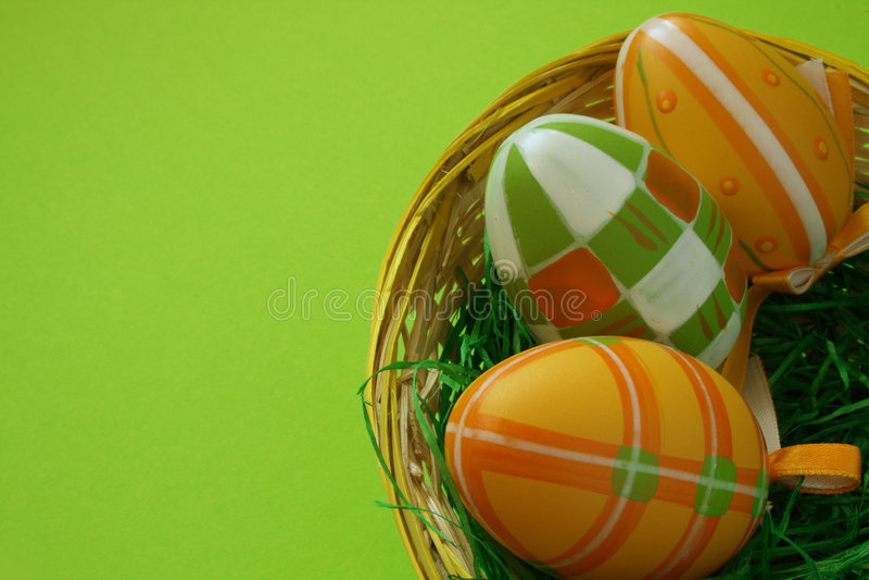 Ninho de Easter imagens de stock