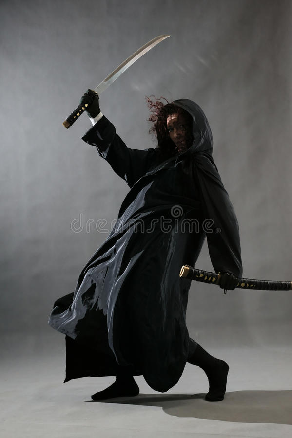 Ninja fotografía de archivo libre de regalías
