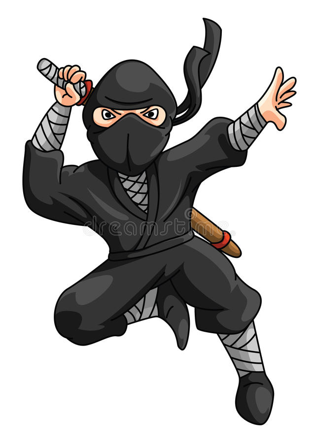 ninja 向量例证