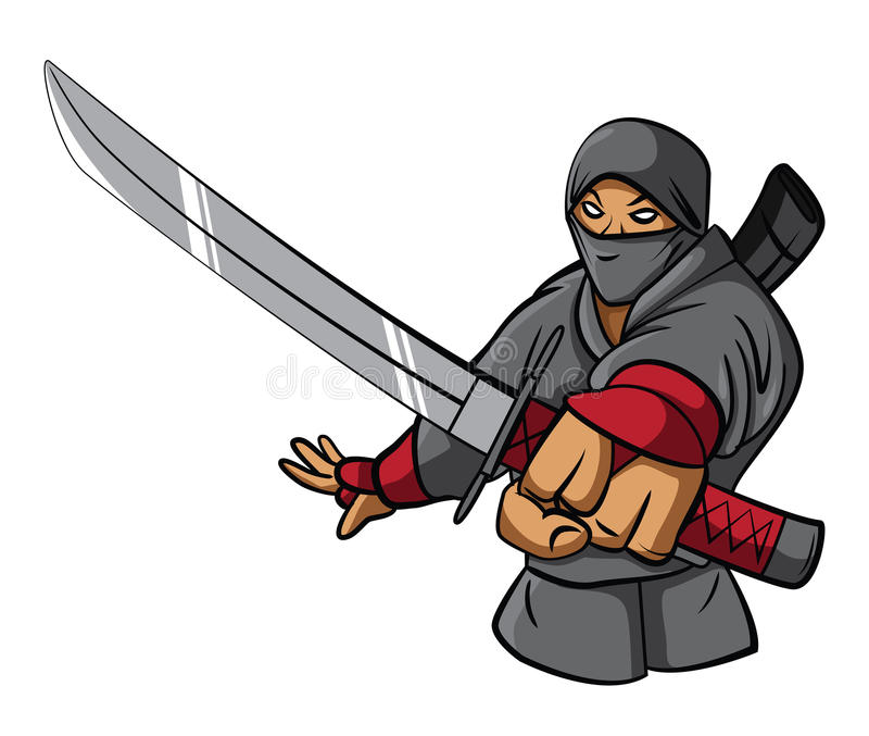 ninja illustration libre de droits