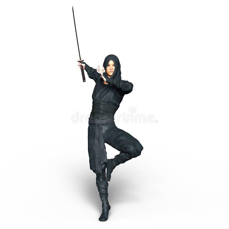 ninja royaltyfri foto