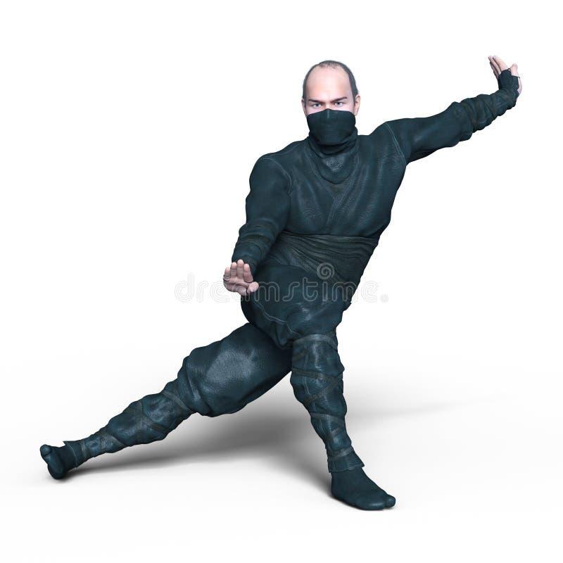 ninja fotografering för bildbyråer
