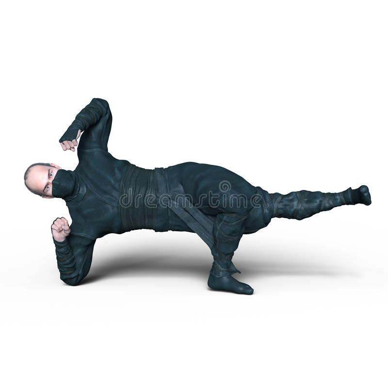 ninja royaltyfria bilder