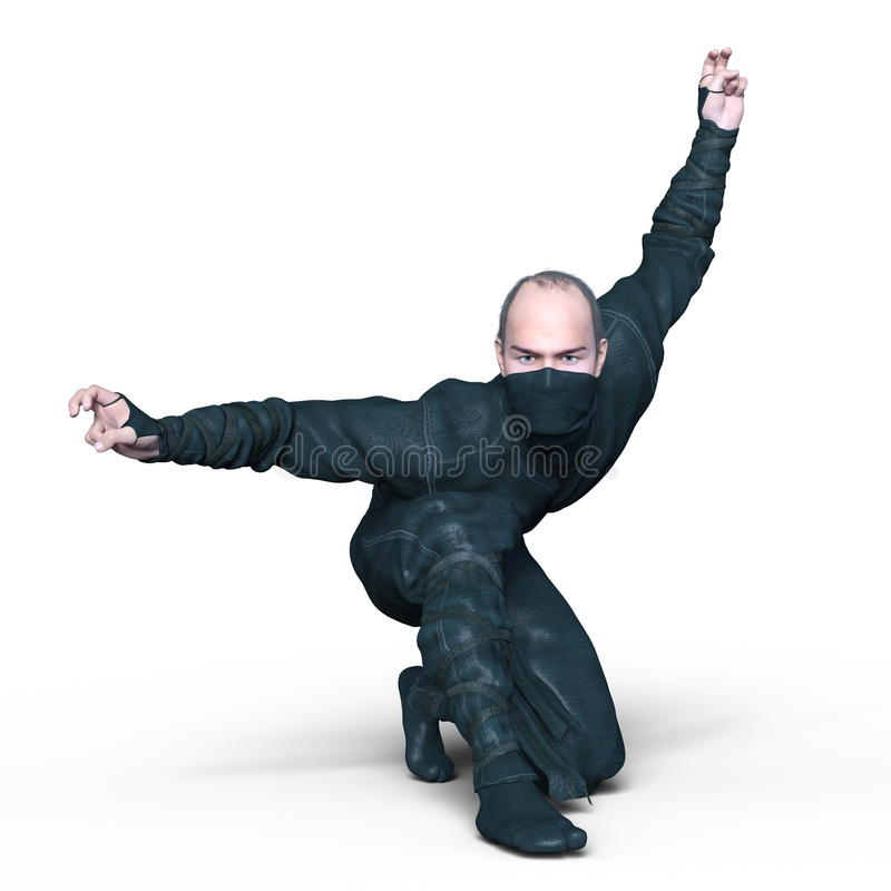 ninja arkivfoton