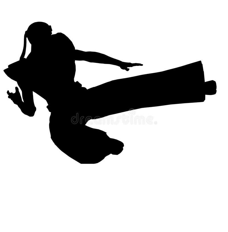 Ninja de los artes marciales libre illustration
