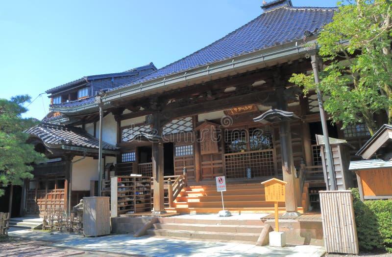 Ninja deratempel i Kanazawa Japan royaltyfria bilder