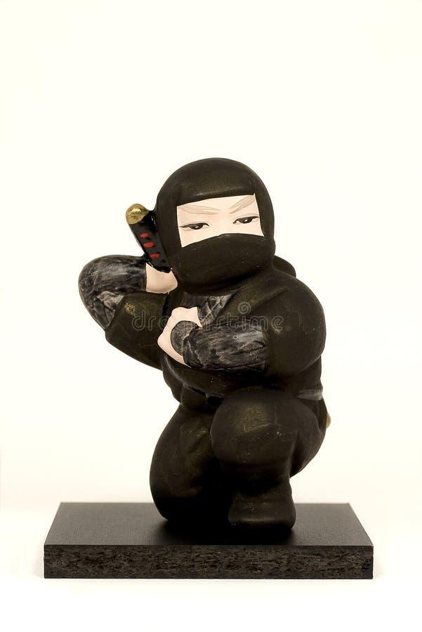 Ninja Doll royalty free stock image