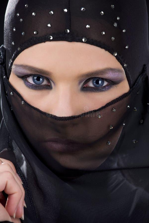 Ninja Face lizenzfreie stockbilder