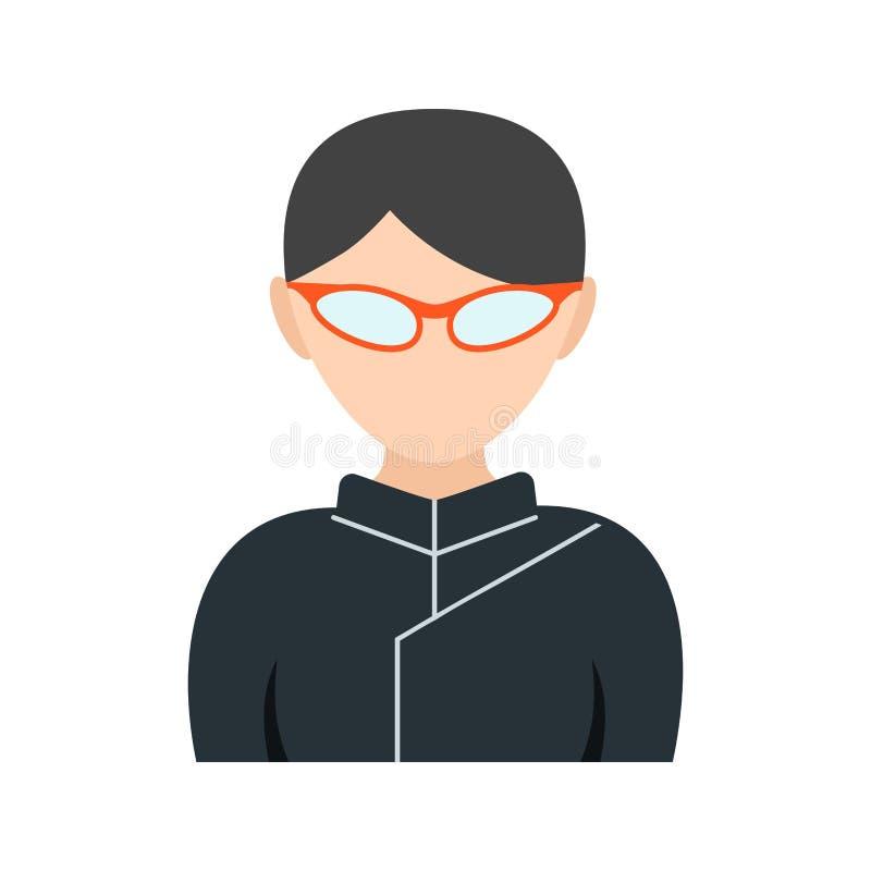 Ninja Girl illustration de vecteur