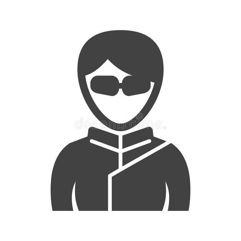 Ninja Girl illustration libre de droits