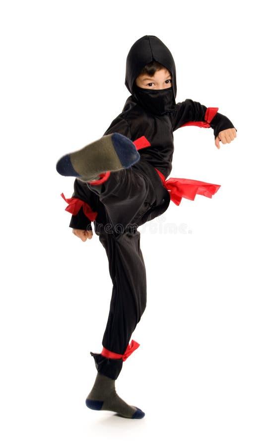 Ninja joven imagenes de archivo