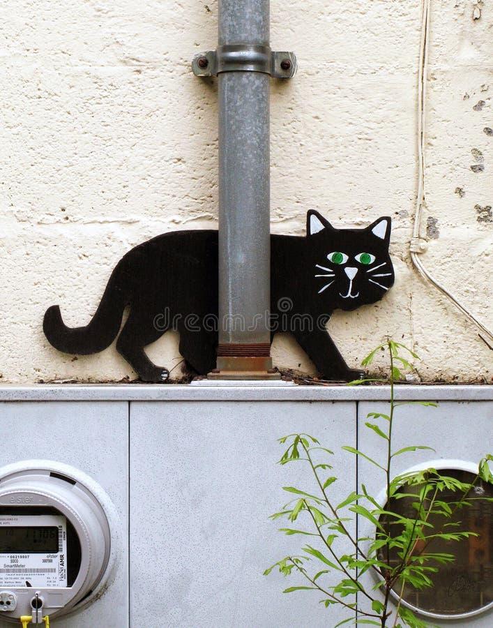Ninja Katze stockbild