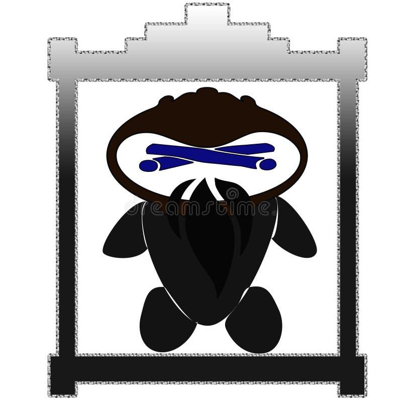 Ninja ledar- kakuroo royaltyfria bilder