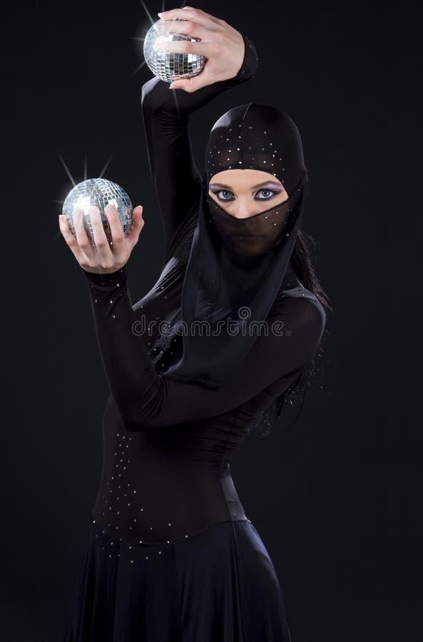 Ninja taniec fotografia stock