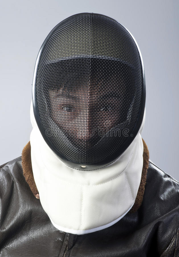 Ninja Warrior. Ninja warrior with face mask stock images