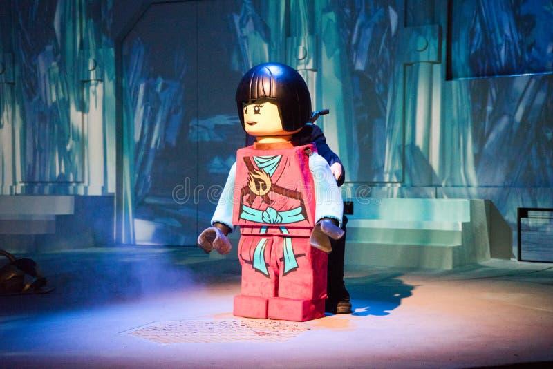 Ninjago lego模型 库存图片