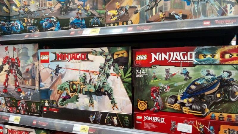 Ninjago Lego fotografía de archivo